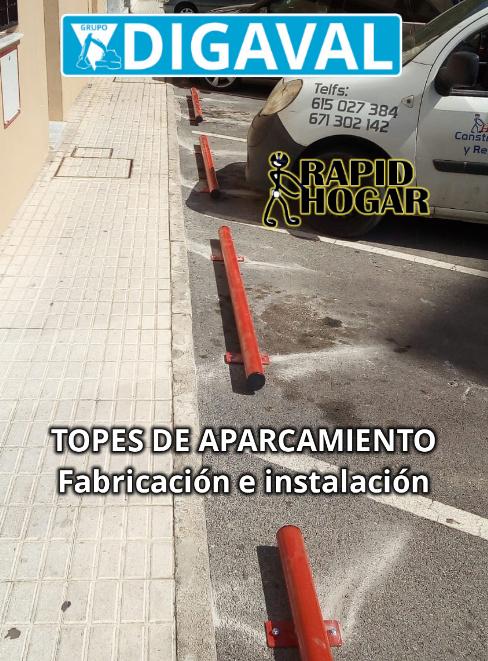 DIGAVAL fabrica topes para aparcamientos.