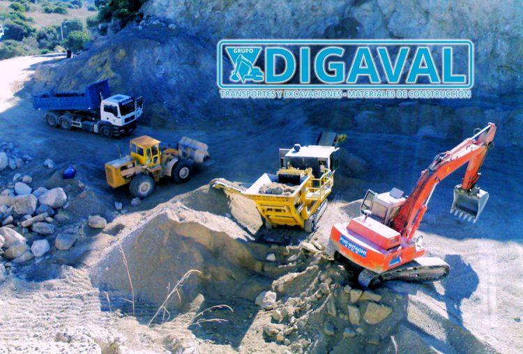 Transporte, excavación, demolición, movimiento de tierras, etc.