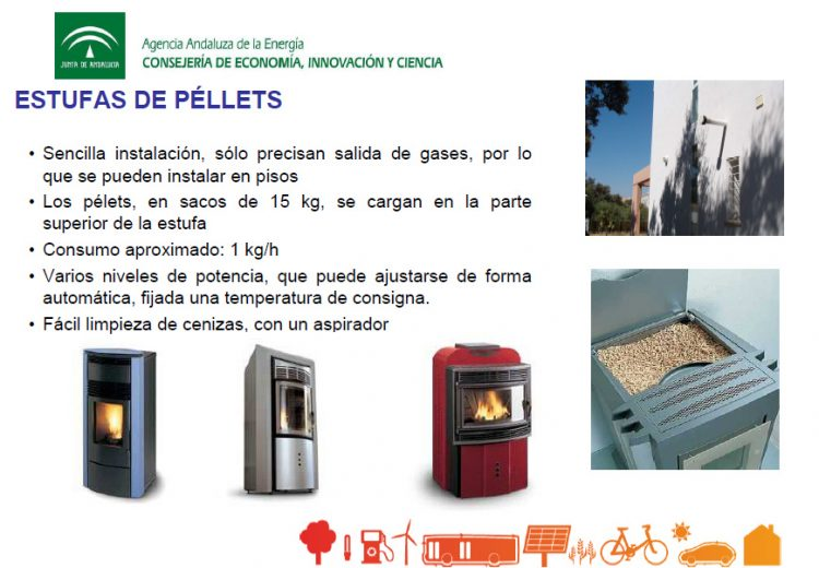 Estufas de pellet, disponibles en DIGAVAL