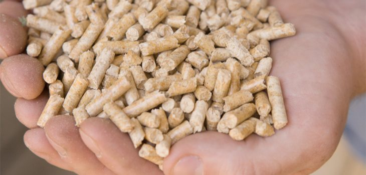 El pellet es un combustible ecológico y muy eficiente.