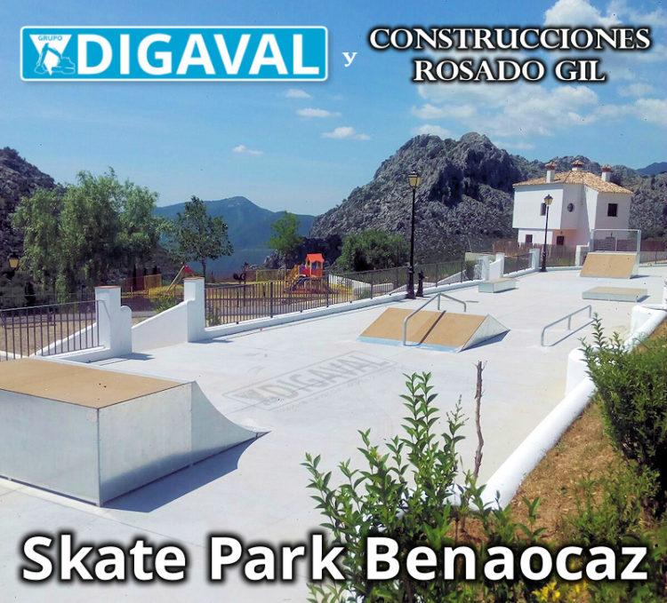 El skate park de Benaocaz es ya una realidad.